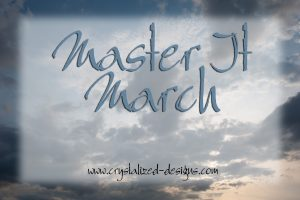 Master It March 2019 Crochet Challenge by Crystalized Designs