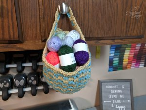 Morando Hanging Basket Crochet Pattern