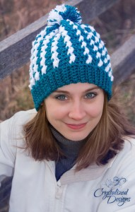 Isabella Beanie by Crystalized Designs