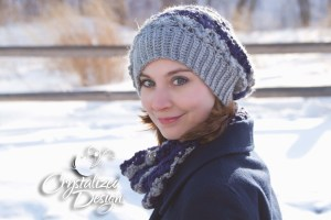 Sierra Slouch Hat by Crystalized Designs