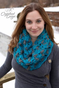 Charismatic Cowl PDF Crochet Pattern by Crystalized Designs