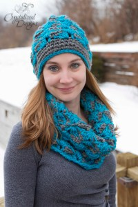 Charismatic Beanie PDF Crochet Pattern by Crystalized Designs