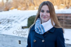 Avalon Scarf Cowl by Crystalized Designs