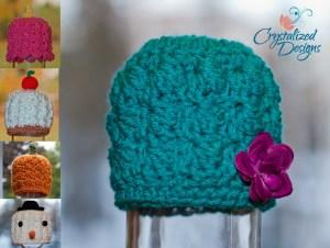 Sweet Seasons Beanie by Crystalized Designs
