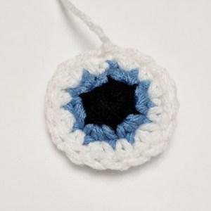 Owen the Owl Crochet Pattern Eye