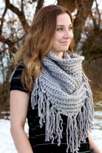Kellen Cowl Crochet Pattern