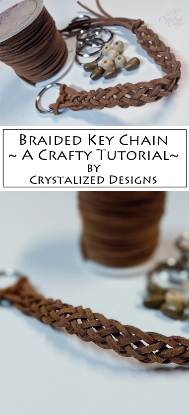Braided Key Chain Tutorial by Crystalized Designs