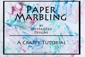 Paper Marbling A Crafty Tutorial by Crystalized Designs