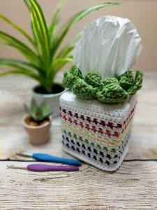plant tissue sleeve free crochet pattern