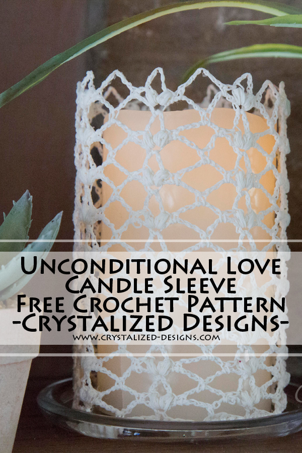 candle crochet pattern