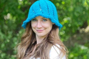 Fritillaria Free Sun Hat Crochet Pattern by Crystalized Designs
