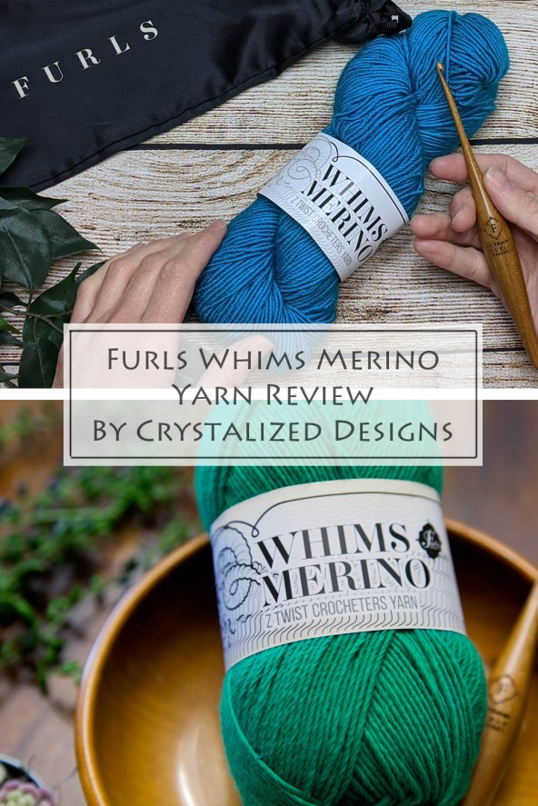 Furls Whims Merino Yarn Review by Crystalized Designs 5