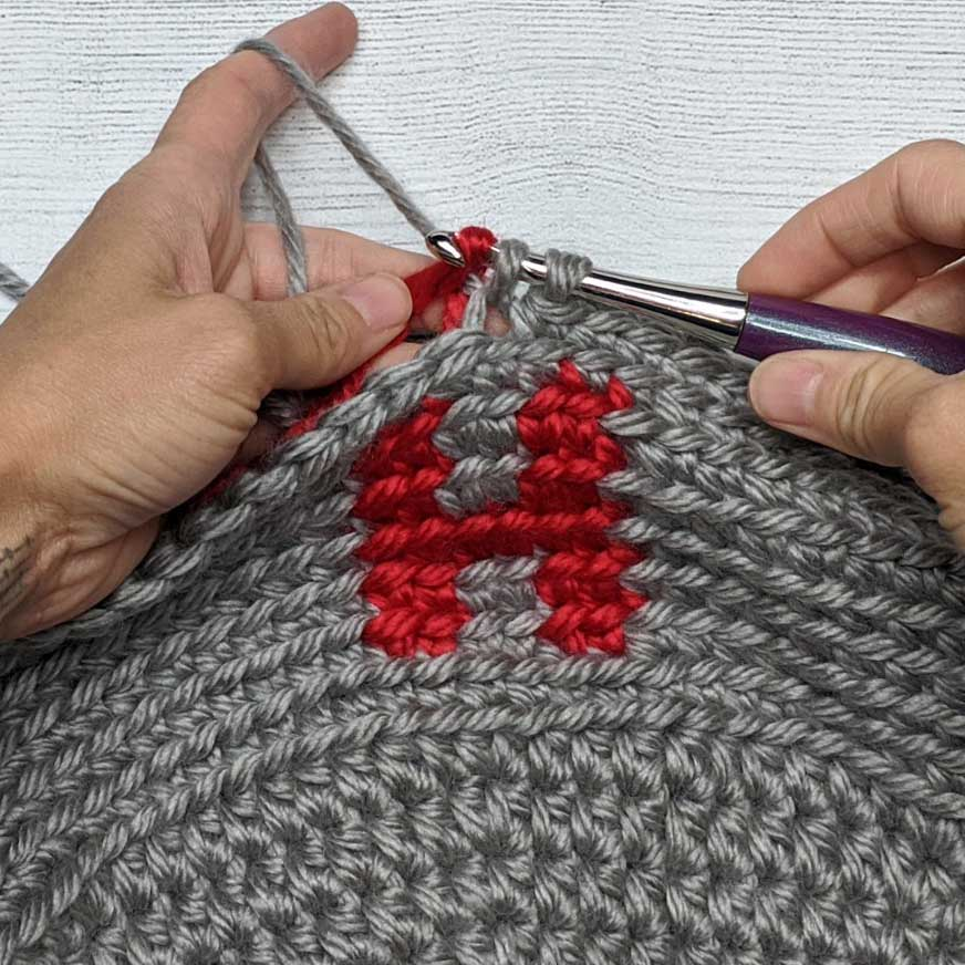 christmas mug cozy crochet pattern