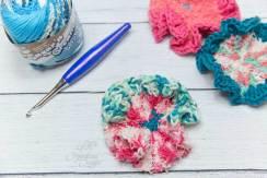 Poodle Skirt Scrubby Crochet Pattern