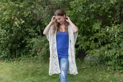 Crystalized Boho Cardi Free Crochet Pattern