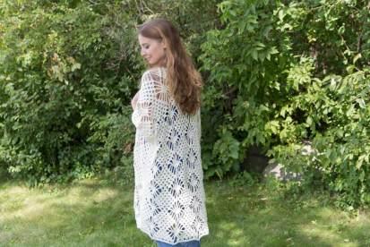 Crystalized Boho Cardigan Crochet Pattern