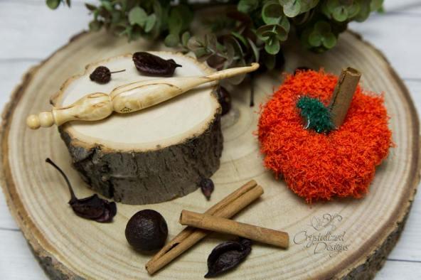 Pumpkin-Scrubby-Crochet-pattern-by-Crystalized-Designs