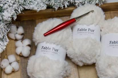Fable Fur Yarn Polar Bear