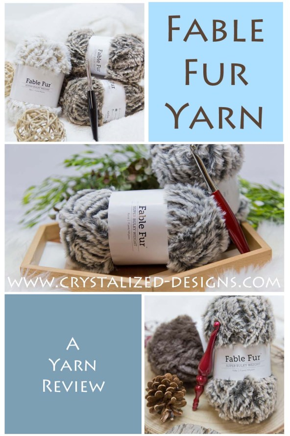 Fable Fur Yarn Review by Crystalized Designs