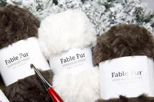 Fable Fur Yarn by WeCrochet Yarn Review