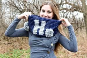 Ho Ho Ho Cowl Crochet Pattern