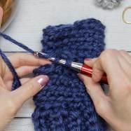 Thumb Crochet Tutorial step 3
