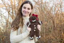 Jaden the Gingerbread Ami Crochet Pattern
