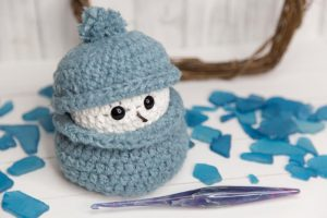Snowman Scrap Busting Crochet Pattern by Crystalized Designs