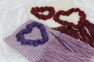 Free Heart Wall Hanging Crochet Pattern