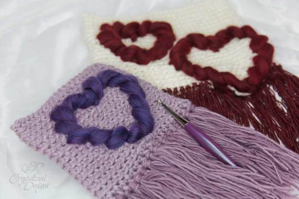 Free Heart Wall Hanging Crochet Pattern