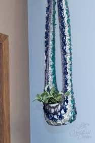 Plant Hammock Crochet Pattern