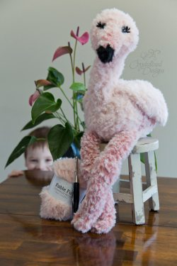 Fable the Flamingo Amigurumi Crochet Pattern