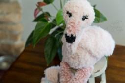 Free Flamingo Crochet Amigurumi Pattern
