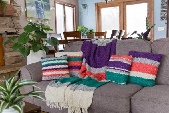 Daydreamer Pillow Free Crochet Pattern