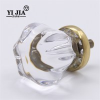 Decorative Glass Cabinet Knobs and Pulls | YiJia Crystal