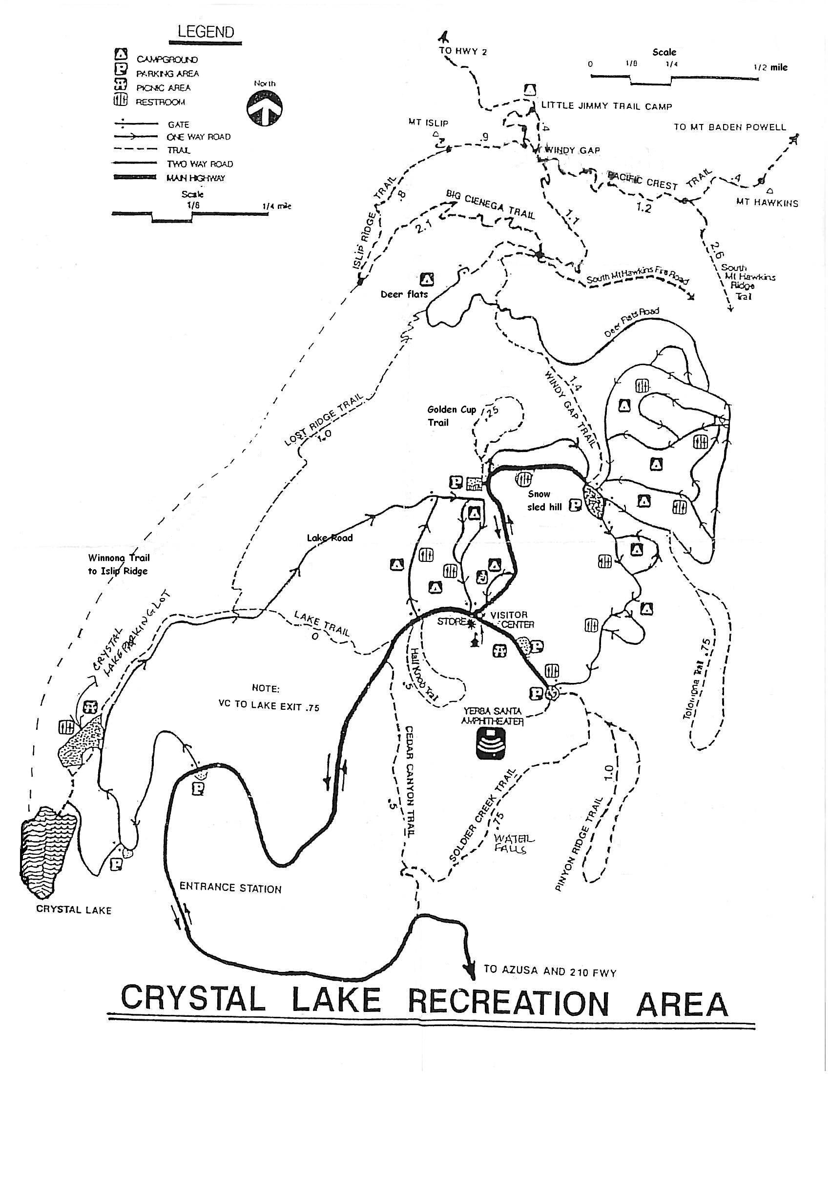 Crystal Lake Camp Grounds: Visitor Center