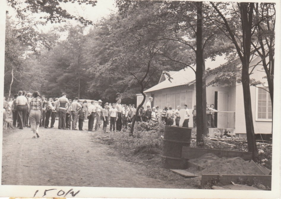 Longhouse - the original Dining Hall