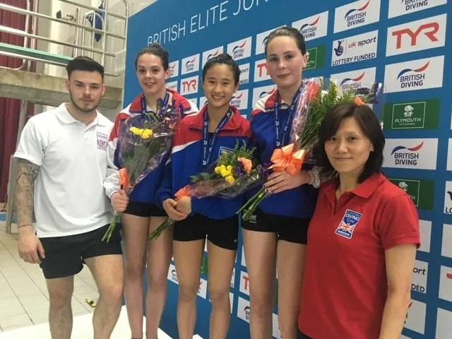 Palace's Junior Elite Divers Excel Again