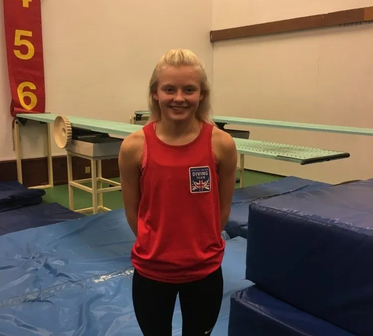 Josie Zillig selected onto British Diving development camps