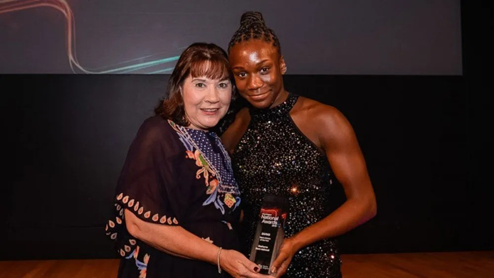 Desharne Wins Swim England Award