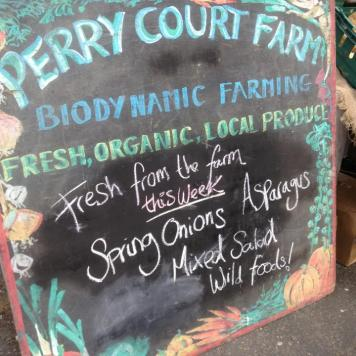 Farm fresh veg