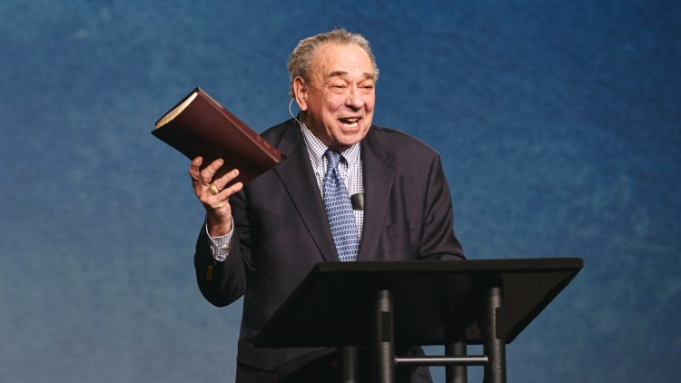 R.C. Sproul preaching.