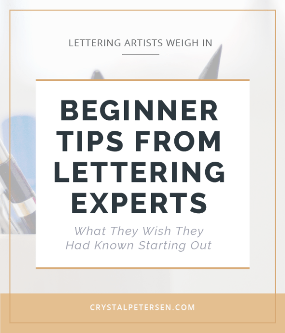 Lettering Artists Weigh In: Beginner Tips From Experts