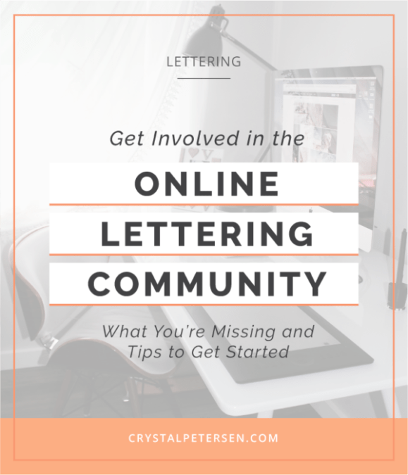 How To Get Involved in the Online Lettering Community