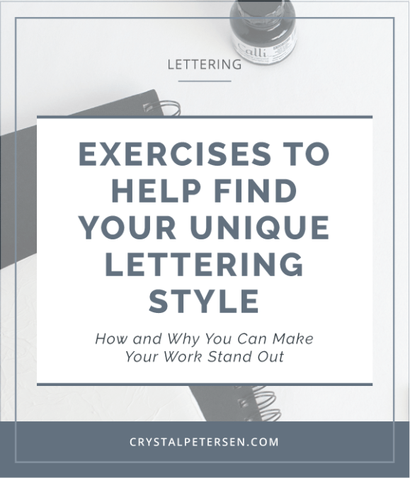Exercises to Help You Find Your Unique Lettering Style