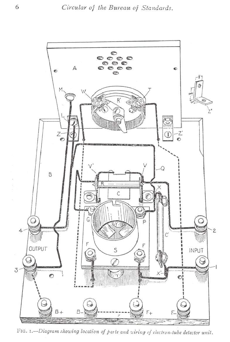simple crystal radio schematic diagram