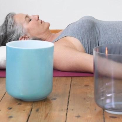 Crystal Tones®  Yin Yoga & Alchemy Crystal Sound Healing | 90 minutes  Free Shipping