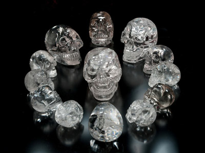 Image result for crystal skulls