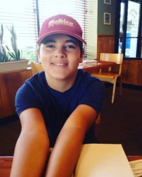 Isaac at 13