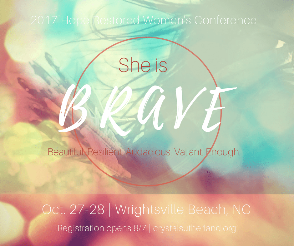 Save the Date: 2017 Hope Restored Women's Conference